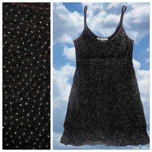 Vintage Dresses - Sparkle Jersey Slip Dress